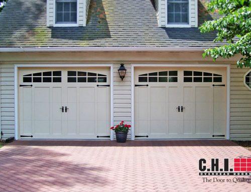 cascade garage doorGarage Door  52XX with Cascade Windows White  Door Doctor