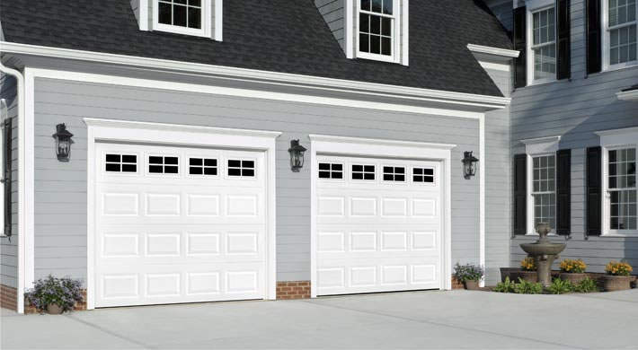 Garage Door U2013 Traditional Short Panel With Stockton Windows, White