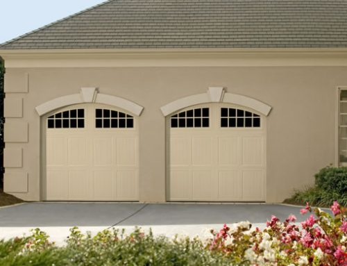 Garage Door – Tuscany with Seine Windows, Custom Painted