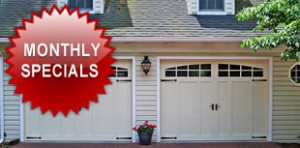 Garage Door Monthly Specials