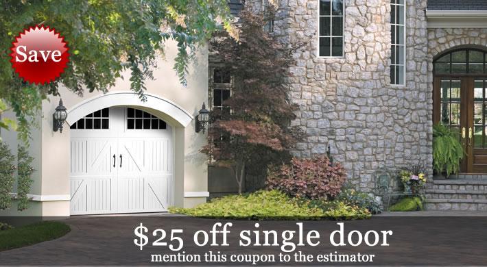 Bon Garage Door Special   25 Dollars Off
