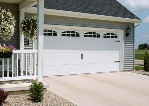 Garage Door - 52XX with Cascade Windows, White