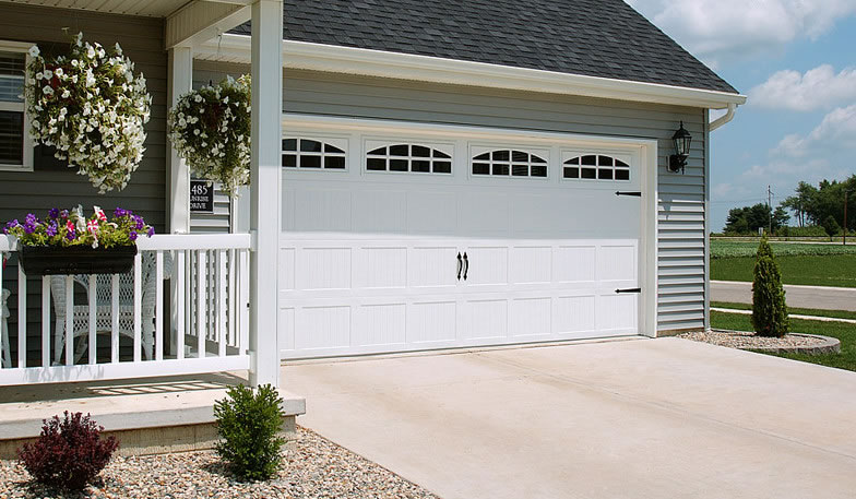 Garage Door   52XX With Cascade Windows, White