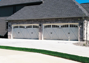 5534A with 2-2 Piece Arched Stockton Windows, Almond