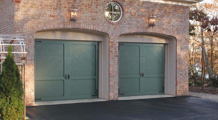 Biltmore Estate Antler Hill, Barcelona Handles, Carolina Hinges, Custom  Painted. ; . Garage Door ...