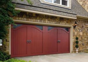 Garage Door U2013 Bob Timberlake Claremont With Seeded Glass Windows, Santiago  Knockers, Custom Hardware, Custom Painted