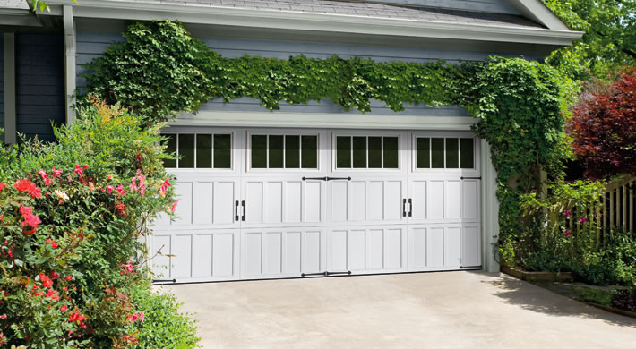 Northampton With Thames Windows, Canterbury Handles And Hinges, White. ;  . Garage Door ...