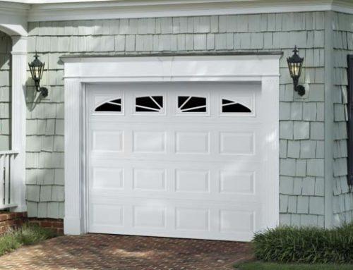 Garage Door Traditional Short Panel With Wagonwheel