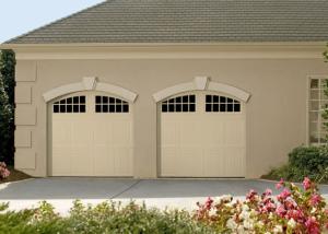 Garage Door U2013 Tuscany With Seine Windows, Custom Painted